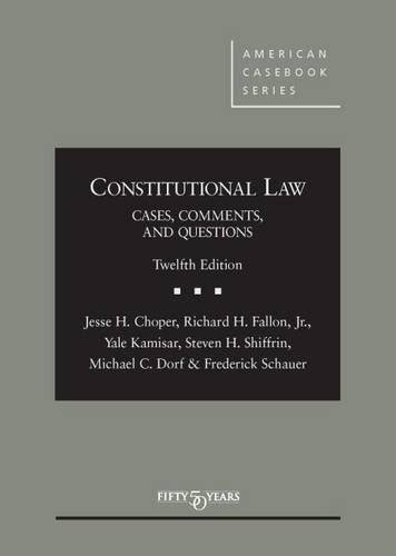 family cases comments and questions american casebook series books constitutional cases comments and questions american
