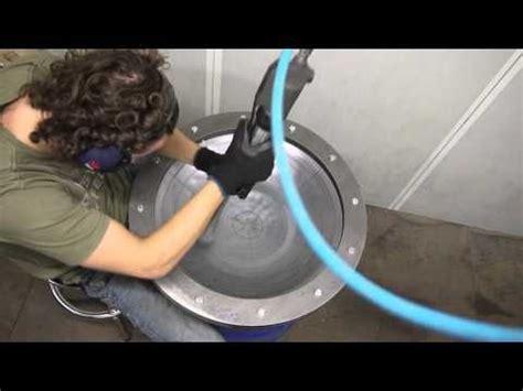 tutorial tank drum basic sinking demo by jan borren a talented builder in