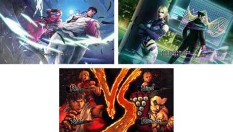 fighter vs tekken capa 2012 cover xbox 360 tekken vs fighter novatokyo