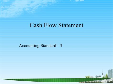 Flow Statement Ppt For Mba by Understanding Financial Statements Ppt Mba Finance