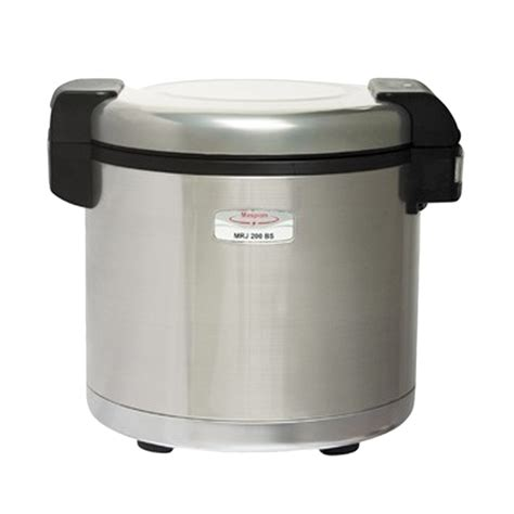 maspion mrj 210bs rice jar cooker jual maspion jar mrj 200 bs rice cooker 20 liter