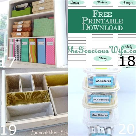 diy home organization 35 diy home organizing ideas the gracious wife