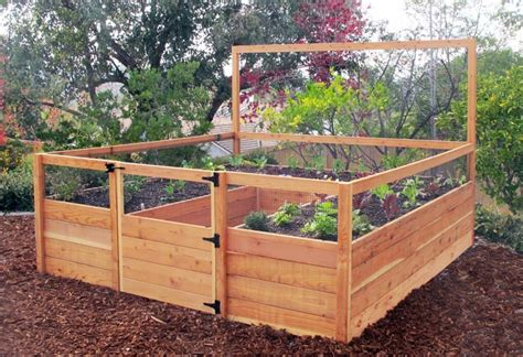 raised garden beds   build  install