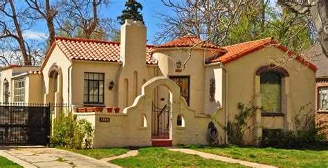 spanish colonial revival architecture denver s single family homes by decade 1930s