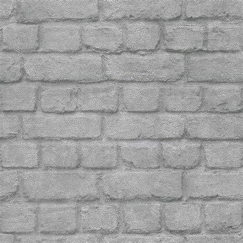 wallpaper grey uk i love wallpaper warehouse photographic brick effect