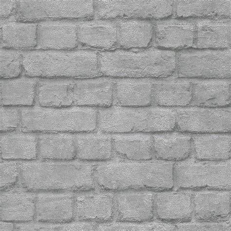 grey effect wallpaper i love wallpaper warehouse photographic brick effect