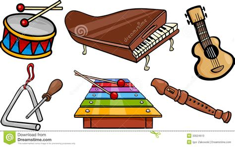 clipart musicali instruments cliparts