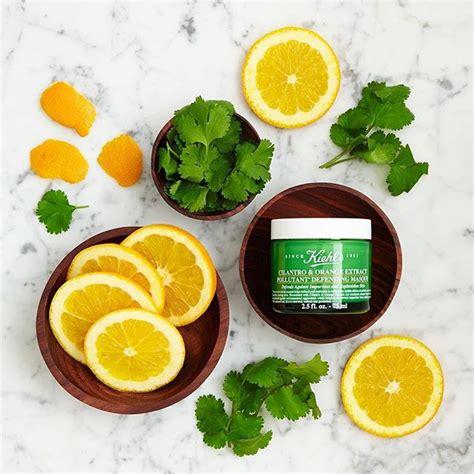 Kiehl S Cilantro Orange Extract Pollutant Defending Masque 5 Ml Tr kiehl s cilantro orange extract pollutant defending masque