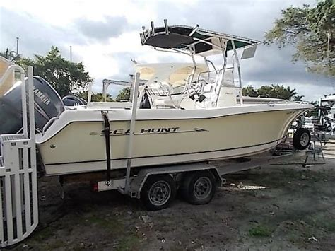 used sea hunt triton boats for sale sea hunt triton 232 boats for sale boats