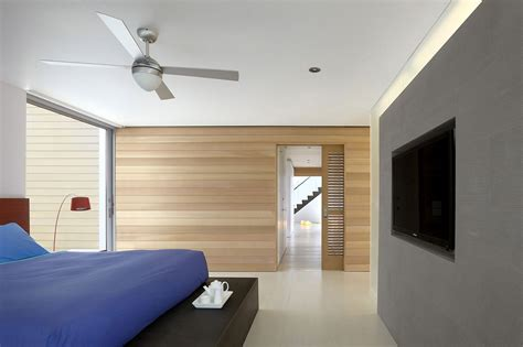 wood walls in house bedroom wooden walls beach walk house fire island new york