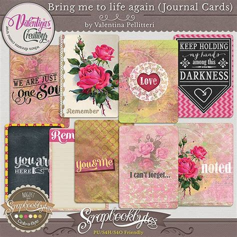 Bringing Digital Scrapbooking To Scrapbook Retail Stores The Mad Cropper 7 by Bring Me To Again Journal Cards 51662 Digital
