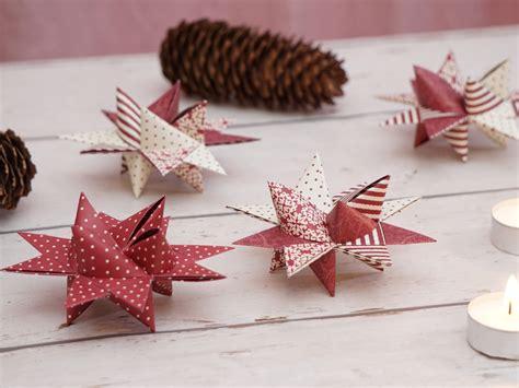 Sterne Basteln Aus Papierstreifen by Kreative Fr 246 Belsterne Zu Weihnachten Basteln Mit