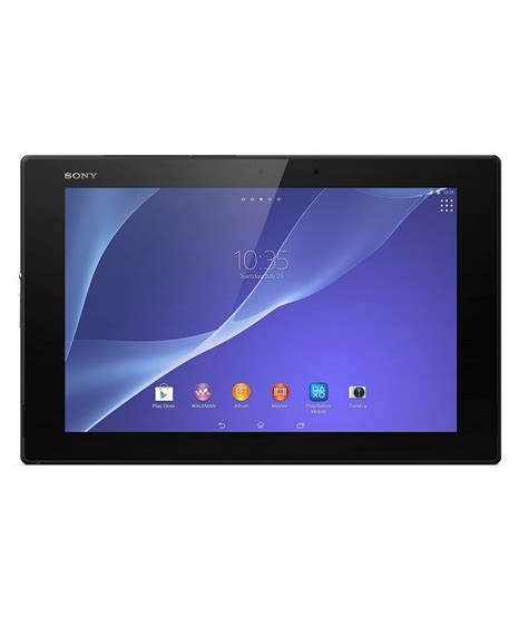 Tablet Sony Xperia 7 Inch sony xperia z2 tablet 32gb black buy sony xperia z2 tablet 32gb black at low price in