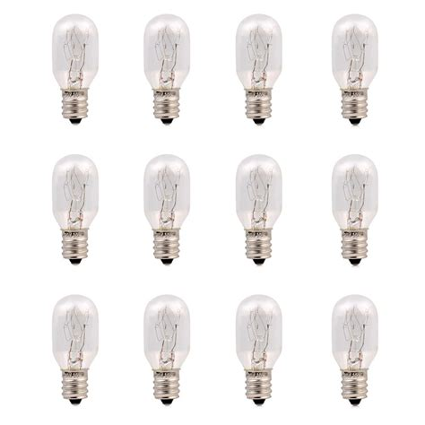 where to buy 15 watt light bulbs 12 pack 15 watt salt l bulbs incandescent e12 socket
