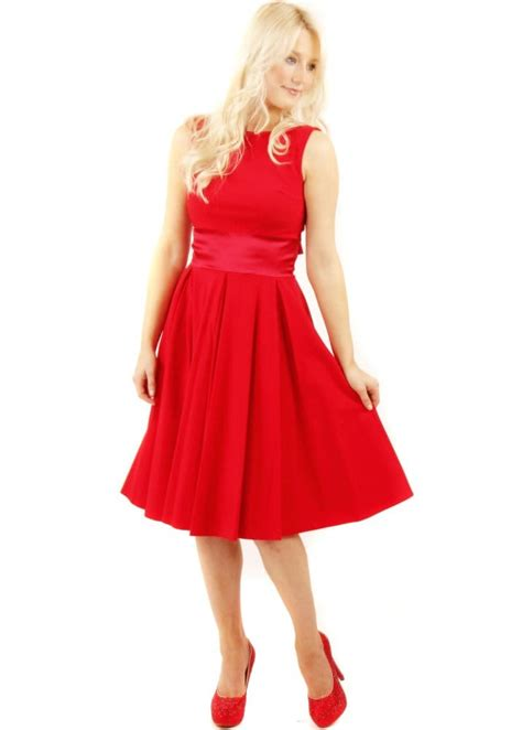 swinging skirts company the pretty dress company red riviera swing dress the