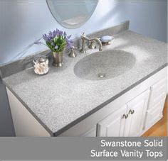 Swanstone Vanity Tops by Swanstone Solid Surface Countertop Completely Inert No