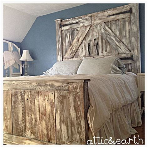 Barn Door Bed Frame 1000 Ideas About Barn Door Headboards On Pinterest Door