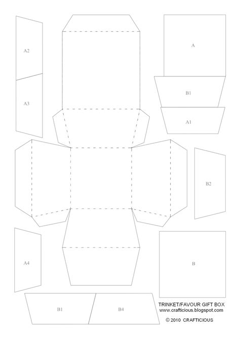 free templates for favour boxes crafticious free template christmas favour gift boxes
