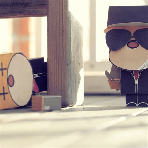Papercraft Corporation - monkey business papercraft on behance