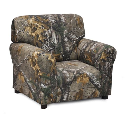 camo recliner chairs realtree camo furniture realtree kids club chair camo trading