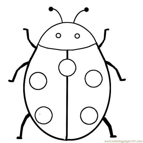 Ladybug Pictures To Color by Ladybug Coloring Page Free Ladybugs Coloring Pages