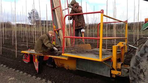 Tree Planter Machine by Tractor Tree Planting Machine At Beardsworths Nurseries