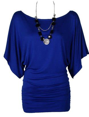 One Shoulder Drape Sleeve Dress The Home Of Fashion New Womens Gorgeous Royal Blue Short