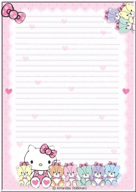 Stationery Hello pin by nadine on writing paper checklists notes