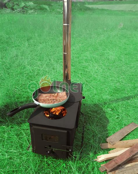 Outdoor C c 11v outdoor cing cooking stove wood burning stove