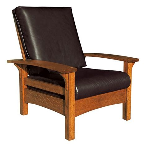 Mission Arts Crafts Stickley Style Bow Arm Morris Chair