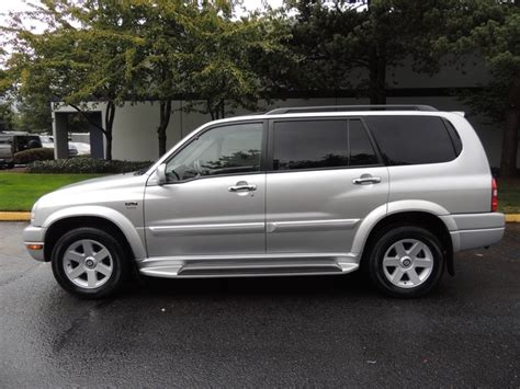 Suzuki Xl7 2002 Tire Size 2002 Suzuki Xl7 Limited Edition 4wd Leather 3rd Seat