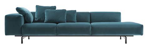 Kartell Sofa sofa largo velluto by kartell blue made in