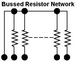 resistor network types resistor network uses 28 images resistors 1x9 network 2 7k 5 10sips s electronic types of