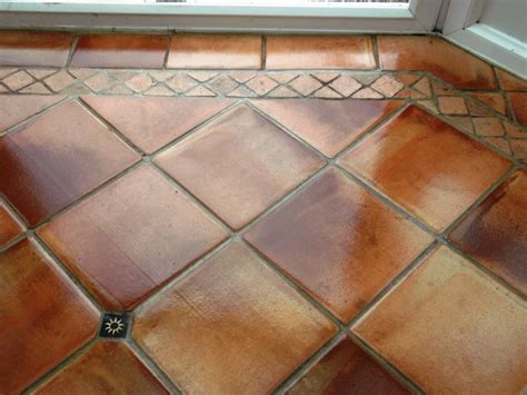 terracotta tiled floor maintained in cringleford norwich suffolk tile doctor