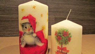 candele fai da te natalizie decorazioni natalizie idee per decorazioni di natale fai