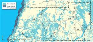 pasco county map florida withlacoochee river watershed distribution of fema 100