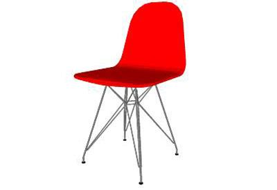 sketchup components 3d warehouse chair: plastic smart chair