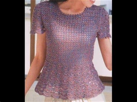 blusa en crochet ganchillo de abanicos parte 1 blusa blusa en crochet ganchillo de abanicos parte 2
