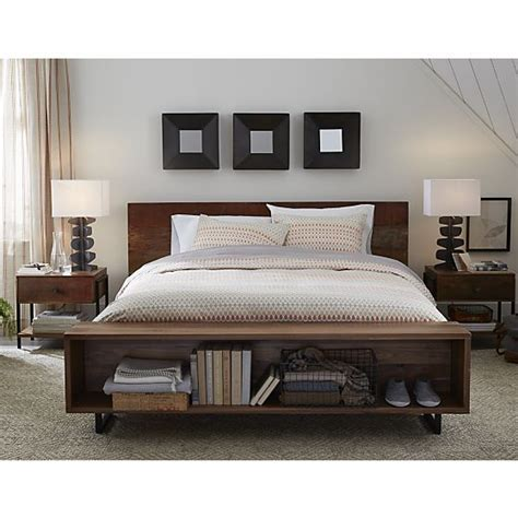 crate and barrel atwood bed atwood queen bed with bookcase