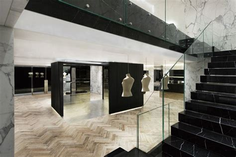 interior design for stores new sophisticated givenchy stores in korea and china