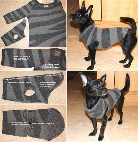 how to make a puppy how to make a sweater for your no sew diy craft projects