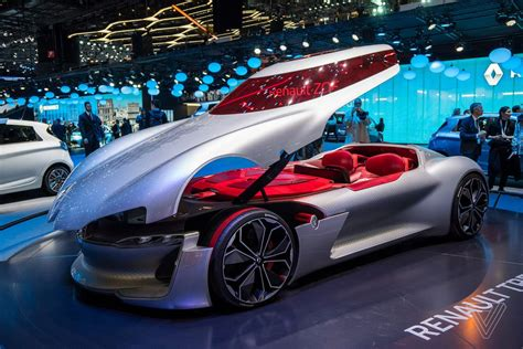 future cars the renault trezor is the retro future concept car of my
