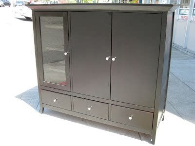 black tv armoire uhuru furniture collectibles sold large black tv