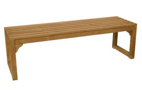 il giardino di legno il giardino di legno panca 3 posti senza schienale teak