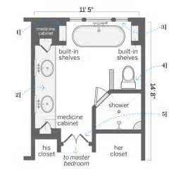 his and bathroom floor plans after floor plan comfortable layout fresh start for a