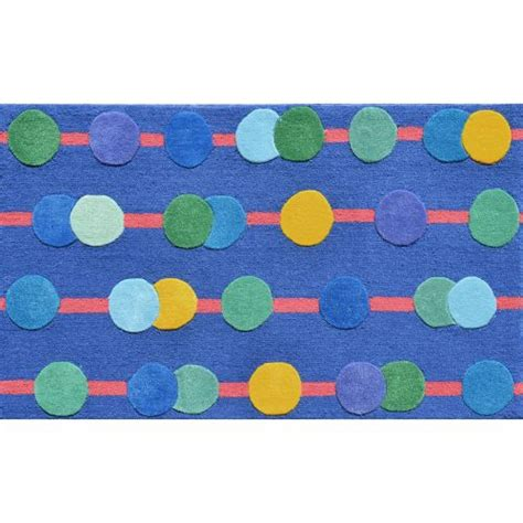 circo rugs circo blue hi low hook tufted rug