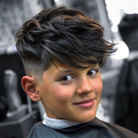 cool  der schule  moderne jungs frisuren im trend