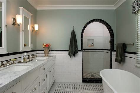 mosaic tile arch doorway bathroom traditional with cararra marble door bathroom vanities with tops