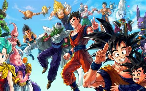 dragon ball wallpaper theme goku windows 10 theme themepack me