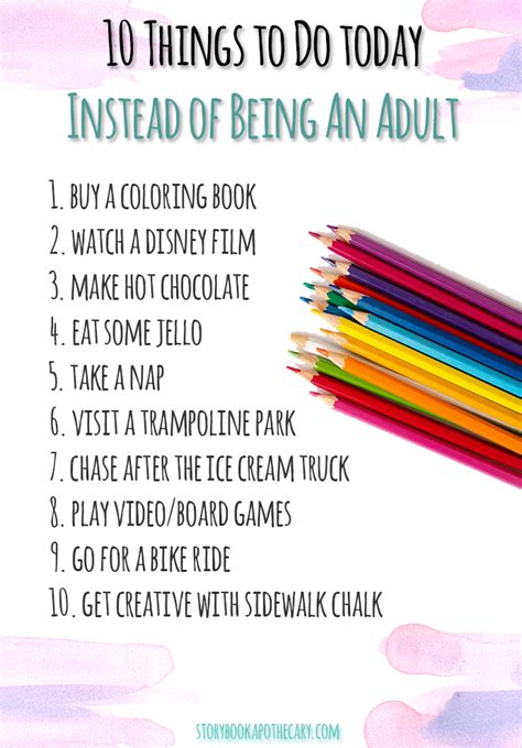 10 Things To Do Instead Of Tv by Don T Grow Up Do These Instead Storybook Apothecary
